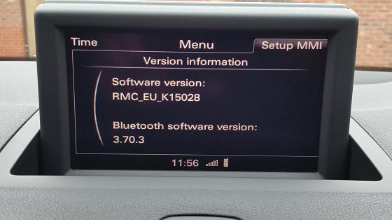 RMC EU K150XX update MMI pre A1-Q3-A6(C7), Audi A1 | Audi A2