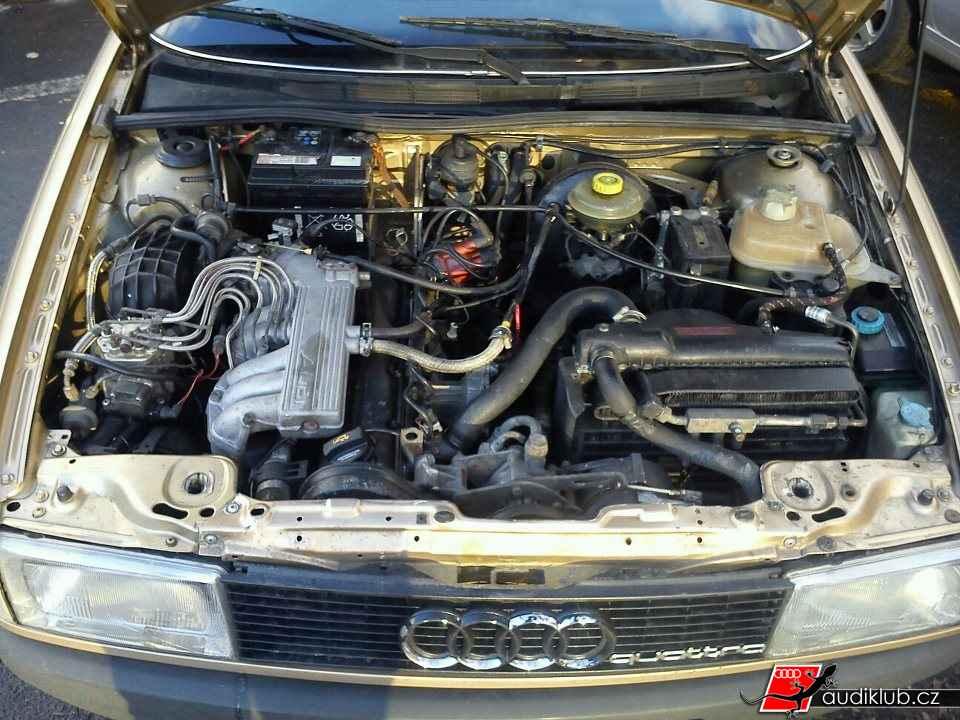 Audi 90 1987 quattro gar audiklub va e elektronick for Wyoming valley motors audi